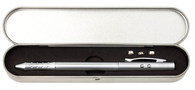 עט לייזר 4 באחד