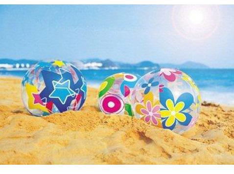כדור ים פרחים וכוכבים
