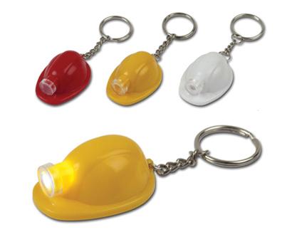 מחזיק מפתחות פנס קסדת בטיחות