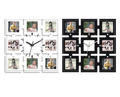 שעון קיר מסגרות לתמונות