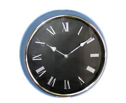 שעון קיר מתכתי גדול