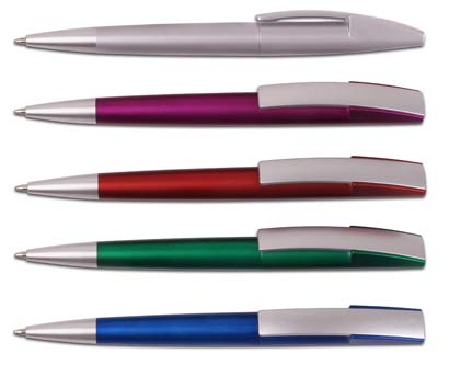 עט כדורי גרביטי מטאלי