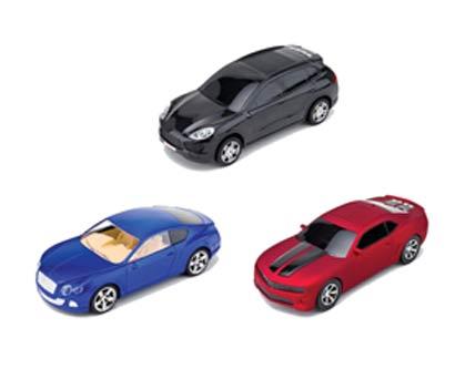 רמקול בצורת מכוניות יוקרה