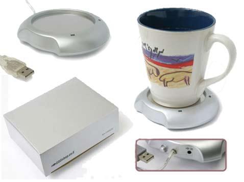 מחמם כוס קפה בחיבור USB