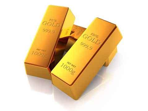 מכבד לניירות - מטיל זהב