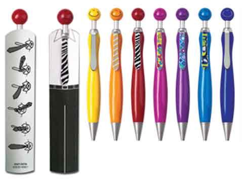 עט בחליפה