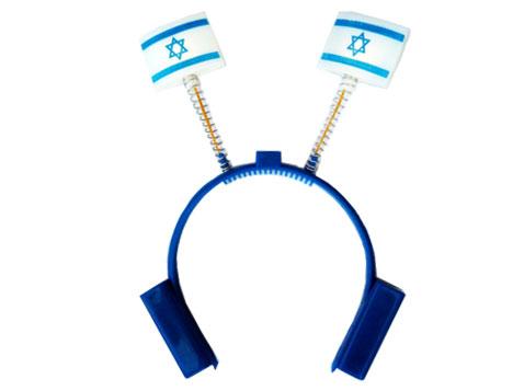 קשת עם דגל ישראל